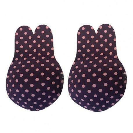 Cute Rabbit Bra Women Reusable Breast Petals Lift Nipple Cover Invisible Push Up Bra