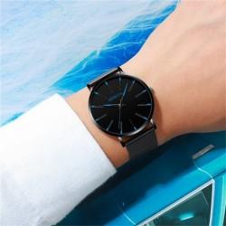 Men's Fashion Ultra-Thin Watch Simple  Business  Belt Quartz Watch