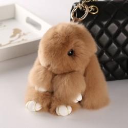 Cute beautiful  rabbit bunny key chain for women