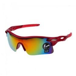 Men's Brand Sunglasses UV400 Mens Designer Glasses-Red