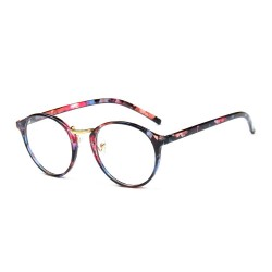 New Harajuku Round Frame Clear glass eyewear for women