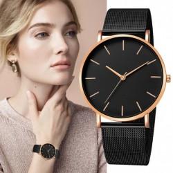 2020 latest fashion Reloj Mujer quartz watch simple watch ladies ladies mesh stainless steel casual bracelet metal girl watch