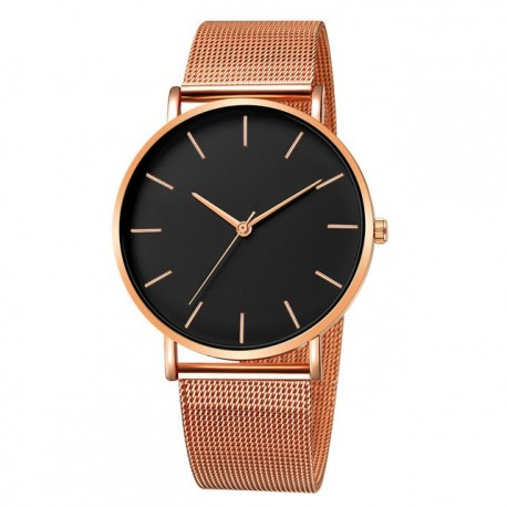 Free Shipping Minimalist Ladies Watch Mesh Belt Stainless Steel Bracelet Casual Watch Ladies Watch reloj mujer relogio feminino