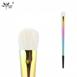 Anmor Goat Hair Eyeshadow Makeup Brushes High Quality Professional Eye Shader Blending Make up Brush Pinceaux Maquillage