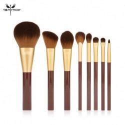 ANMOR 8 Pcs Makeup Brushes Set Powder Blush Foundation Eyeshadow Eyebrow Make Up Brush Cosmetics Tools Kit Pinceaux Maquillage