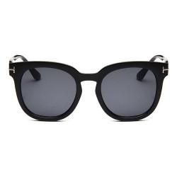 Korean fashion retro fashion big frame sunglasses
