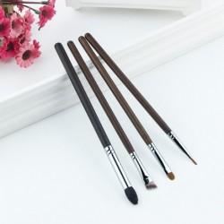 2019 Anmor 4PCS Professional Eye Makeup Brushes Set Eyeshadow Eyebrow Eyeliner Tapered Blending Make Up Brush Brochas Maquillaje