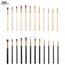 Anmor 12Pcs/Set Makeup Brushes Professional Make Up Brush Eyeshadow Eyebrow Cleaner Blending Cosmetic Tool Brochas Maquillaje