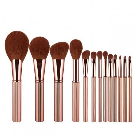 ANMOR 13 Pcs Makeup Brushes Set Powder Blush Eye Shadow