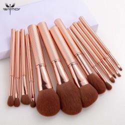 ANMOR 13 Pcs  Makeup Brushes Set Powder Blush Eye Shadow Blending Eyeshadow Make Up Brush Top Quality Pincel Maquiagem