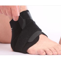 Adjustable Breathable Open Heel Ankle Support