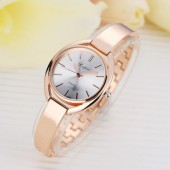 Luxury fashion bracelet wristwatch for women