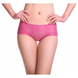 Ladies ice silk woman seamless low-waist Panties