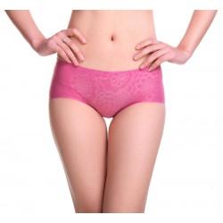 Ladies ice silk woman seamless low-waist Panties