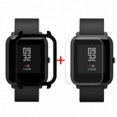 Watch case for xiaomi Case Cover Shell For Xiaomi Huami Amazfit Bip Youth Watch with Screen Protector dropshipping