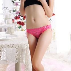 Women Sexy Tie See-through G-string Thongs Knickers Lingerie