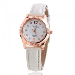 Fashion Leather Strap Luxury Ladies Quartz-watch