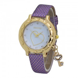 Fashion ultra-thin belt watch female wrist watch