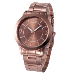 Rose Gold Silver Fashion Women Bracelet Watch