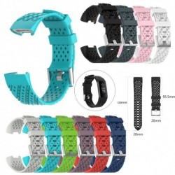 bracelet strap for fitbit New Fashion Sports Breathable Silicone Bracelet Strap Band For Fitbit Charge 3 Wholesale dropshipping