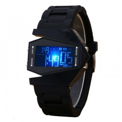 Multifunction LED Digital Aircraft Sports Watches