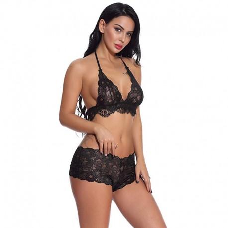 Women Modal Sexy Lingerie Set 2 Piece