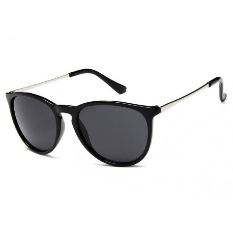Trendy Fashion Semi Metallic Toad Sunglasses For Women
