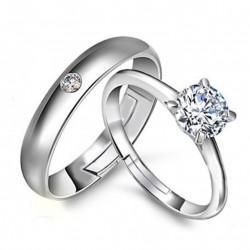 Korean Fashion Couple Ring