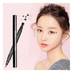 Double headed liquid waterproof  eyeliner pen