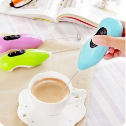 Mini Hand Milk Whisk mixer for making coffee and tea