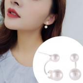 Korean fashions Simple pearl design Earrings