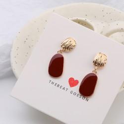 Korean fashions Simple Geometric Earrings