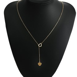 Korean fashion Y shaped clavicle necklace chain