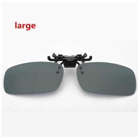 7dc8f098e6d Men Women Retro Flip Up Polarized Sunglasses Clip On Myopia Glasses Kids  Day Night Vision Goggles