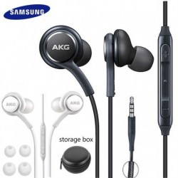 Samsung AKG Earphones EO IG955 3.5mm In-ear Wired Mic Volume Control Headset for Galaxy S10 S9 S8 S7 S6 huawei xiaomi Smartphone