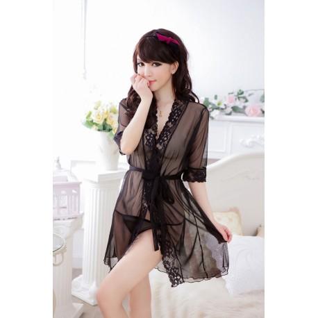 Buy Women Robe Sexy Lingerie Sexy Sleepwear Now Lk
