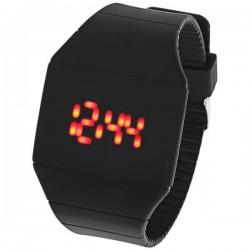 Men/ Women Red LED Digital Touch Screen  Dial Watch