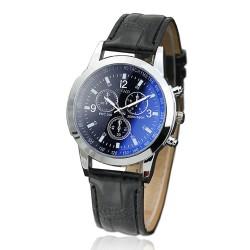 Blue Glass Three Belts Men's Watches Watches Men's