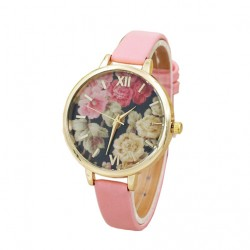 New Europe And America  Belt Flower Ladies Watch
