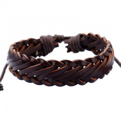 Vintage Leather Bracelets For Men Women