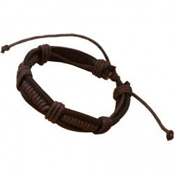 Fashion Braided Leather Bracelet.