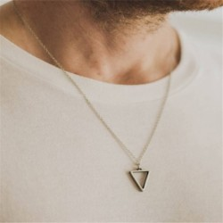 Fashion new  Pendant Necklace Men Temperament Stainless Steel Chain Necklace For Men Party Jewelry Gift