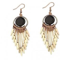 Korean Version  Black Earrings For Women