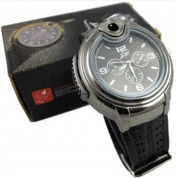 Military Lighter wrist Watch