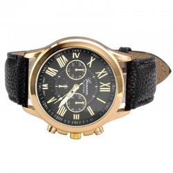 Fashion Geneva Roman Numerals Wrist Watch