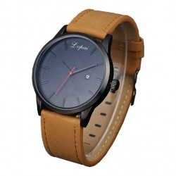 Men's Casual  Leather Analog Watches