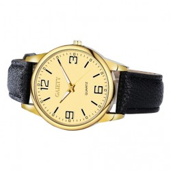 Women Fashion Leather Band Analog Wrist Watch Watches