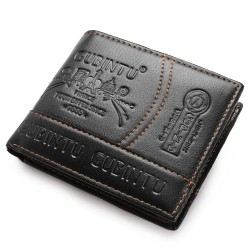 Leather Brand Men Wallets