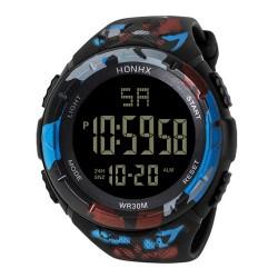 Men Analog Digital  Army Sport LED Waterproof Wrist Watch