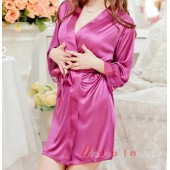 Women Lace Robe Sleepwear Nightdress